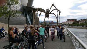 Bilbobentura - Bicis - Museo Guggenheim