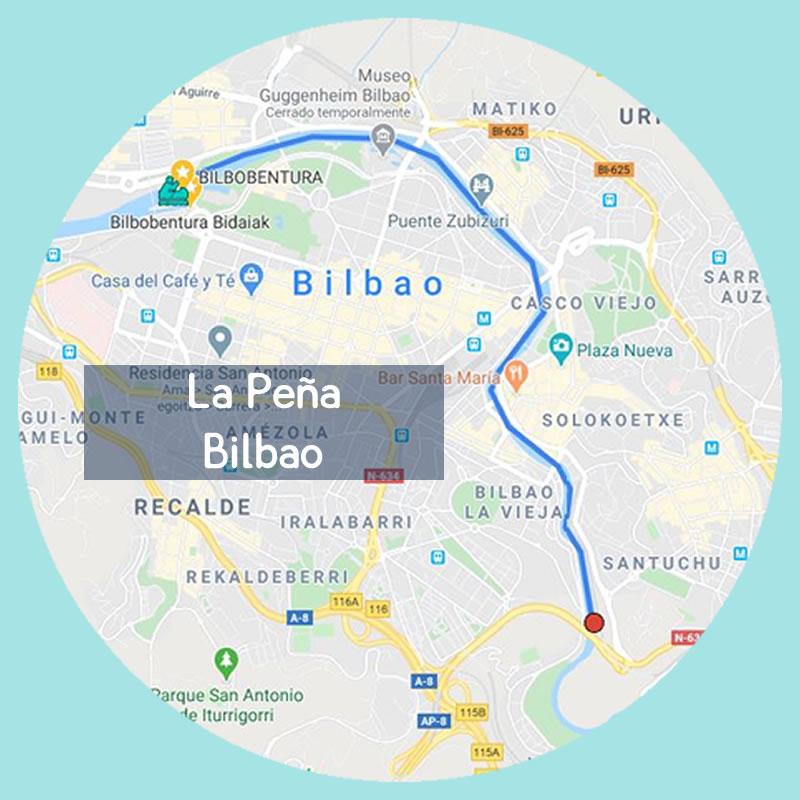 Bilbobentura - Travesía La Peña - Bilbao