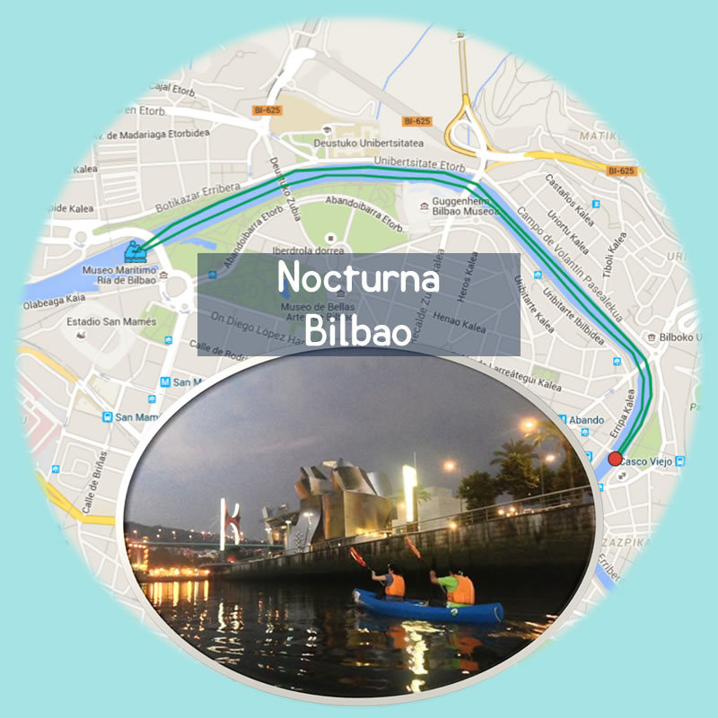 Bilbobentura - Travesía Nocturna Bilbao