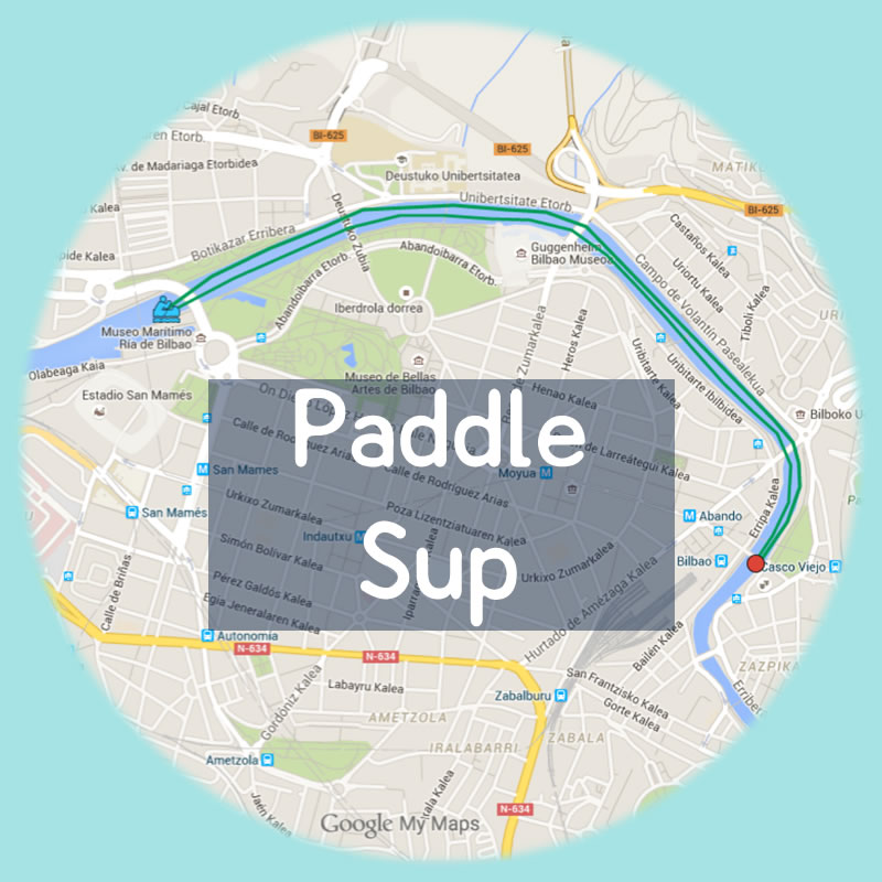 Bilbobentura - Salidas Programadas - Paddle Sup
