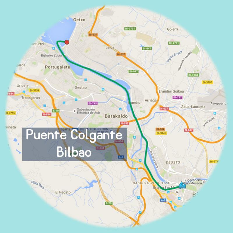 Bilbobentura - Travesía Puente Colgante - Bilbao