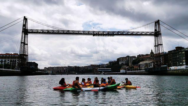 Bilbobentura - Despedidas - Puente Colgante