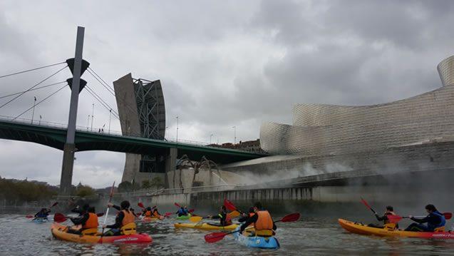 Piraguas - Puente la Salve