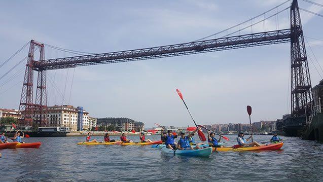 Bilbobentura - Travesía Puente Colgante-Bilbao - Puente Bizkaia 2