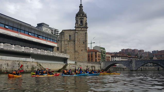 Bilbobentura - Travesía Bilbao-Bilbao - San Antón