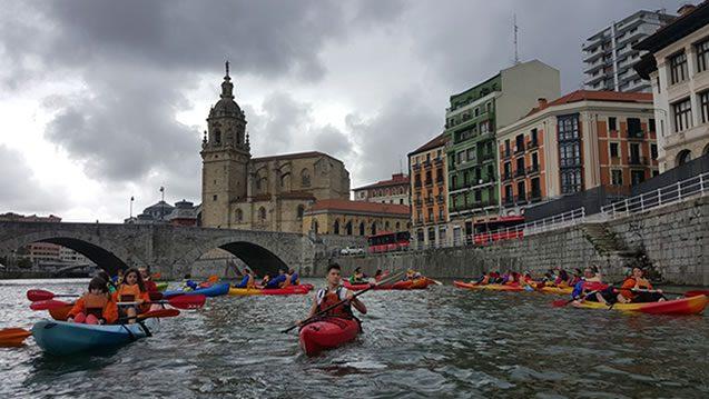 Bilbobentura - Travesía La Peña-Bilbao - Puente San Antón