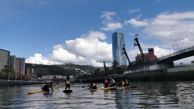 Bilbobentura - Paddle Sup - Torre Iberdrola