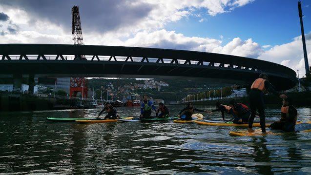 Bilbobentura - Paddle Sup - Puente Euskalduna